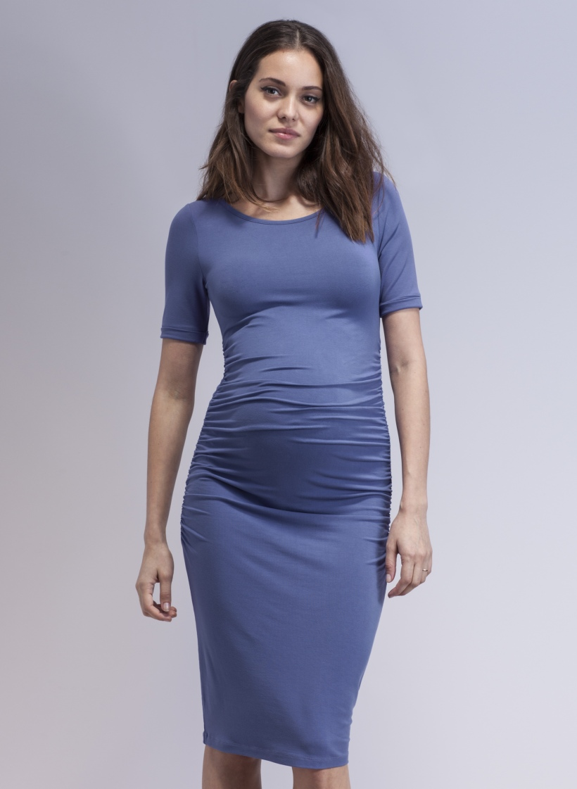 8690b2416329c Isabella Oliver New Spring /Summer 14 Maternity Collection Has Arrived!  Rushed t shirt dress ...